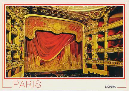 [Theatre de l'Opera (Palais Garnier)]