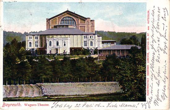 [Bayreuth: Festspielhaus]