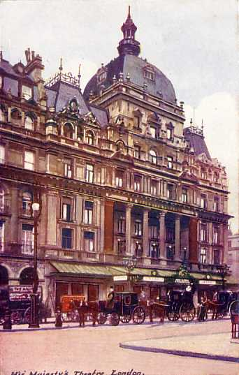 [London: Her Majesty's Theatre]