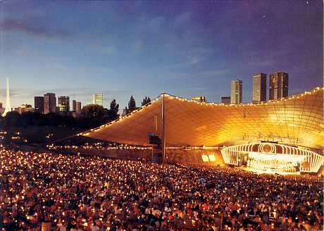 [Melbourne: Sidney Myer Music Bowl] Folded Greeting Card