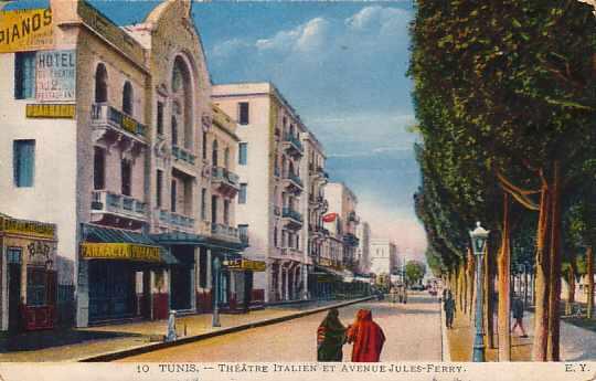 [Tunis: Theatre Italien]